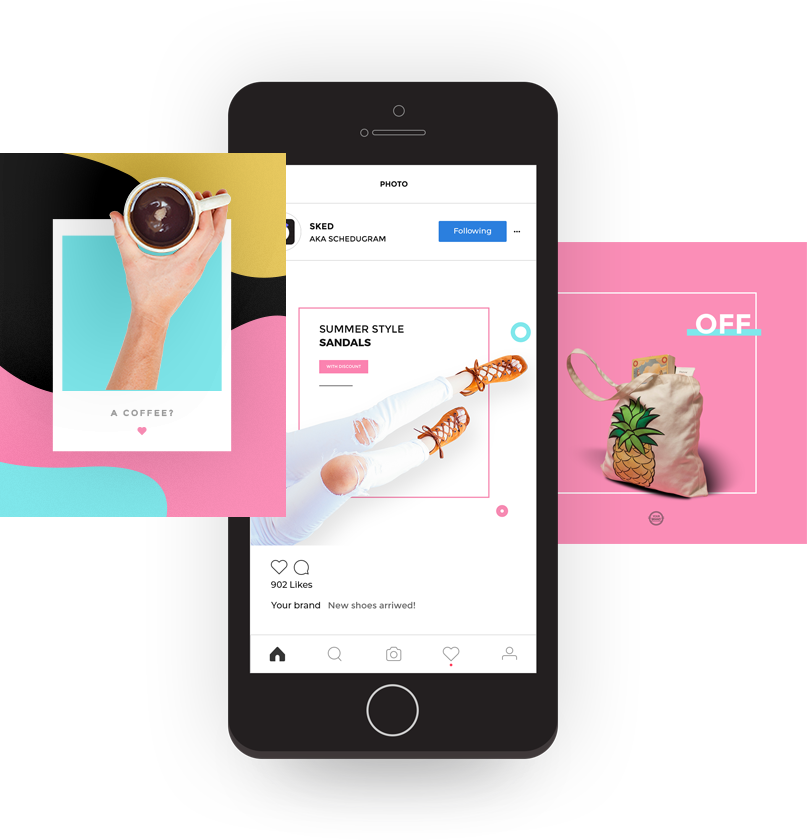 mobile-mockup-automatically-schedule-instagram-posts