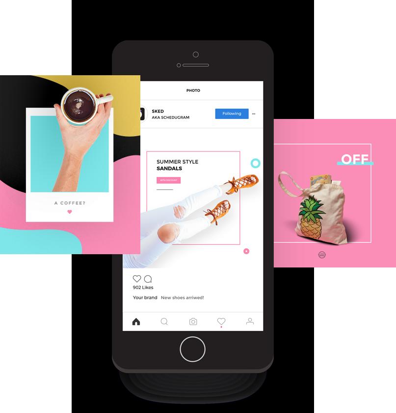E-commerce Instagram Planner - Schedugram