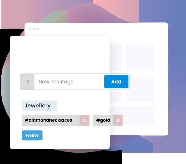 Plann App Alternative Hashtag Feature